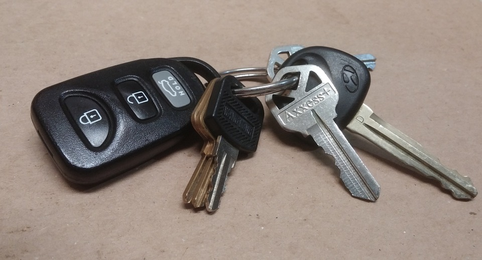 Car key fobs replacement
